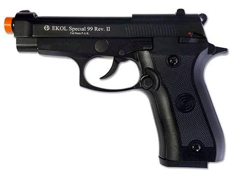 Ekol V85 Rev Ii Black Blank Gun  replicaairguns.us