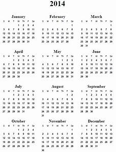 calendar printable images gallery category page 4 With 4 month calendar template 2014
