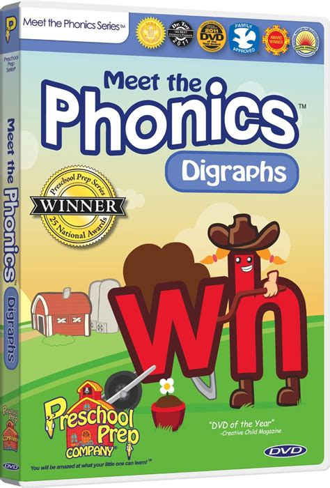 prep company ppc108 meet the phonics letters sounds meet the phonics digraphs top educational infant toys