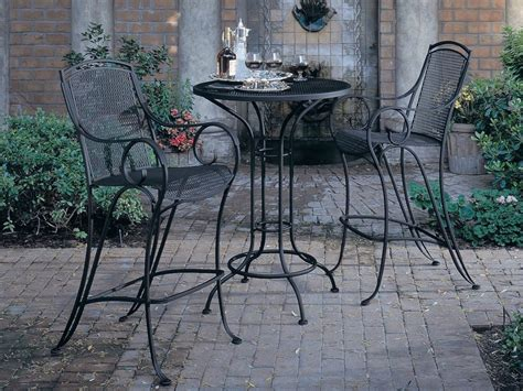 furniture rod iron patio set patio design ideas wrought