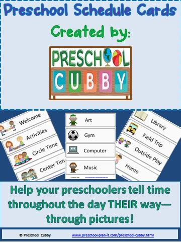145 preschool themes with 4 075 activities 138 | schedulecardimage