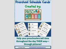 Preschool Schedule Resource