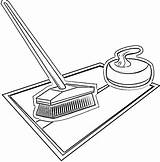 Curling Equipment Coloring Pages sketch template