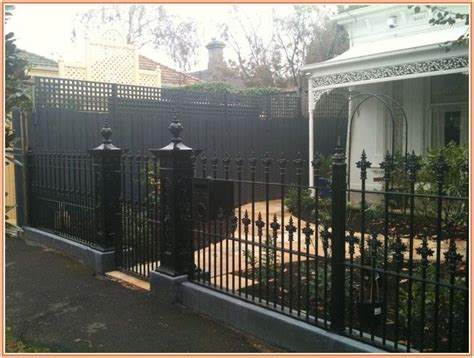 cost of iron fence 17 best ideas about wrought iron fence cost on pinterest chain link fence cost backyard
