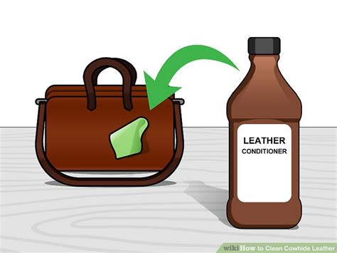 How To Clean Cowhide Leather by How To Clean Cowhide Leather 13 Steps With Pictures