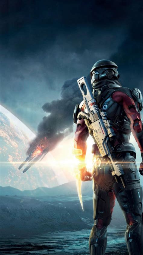 wallpaper mass effect andromeda mass effect shooter