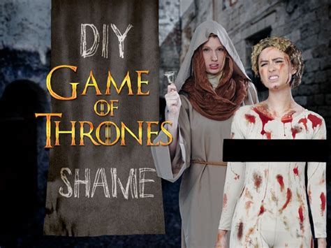 Game Of Thrones Shame Costume Diy [contains Spoilers