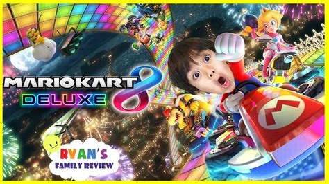 Ryan And Daddy Game Night Lets Play Mario Kart 8 Deluxe