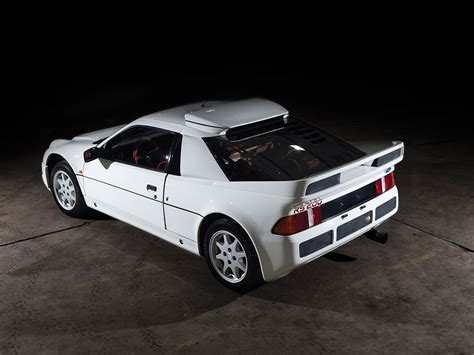 ford rs evolution heading  amelia island auction
