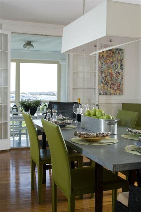 Schoene Ideen Fuer Esstisch Mit Stuehlenfantastic Green Modern Dining Tables Mzrble White Floor Interior by 48 Moderne St 252 Hle Esszimmer Auch Im Essbereich Wird Der