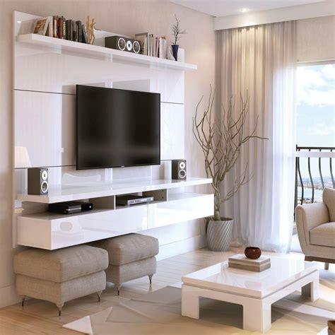 manhattan comfort city white gloss entertainment center 25252 the home depot