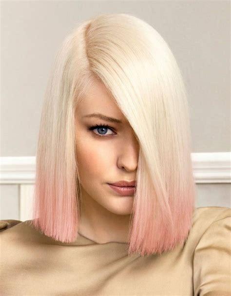 rosa haare selber färben 1001 ideen wie sie ombre hair selber machen