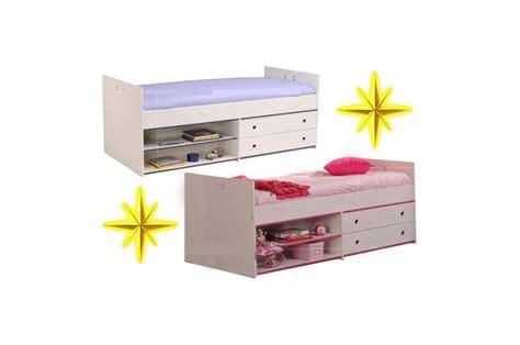 chambre avec rangement lit mi hauteur avec rangement snoopy cbc meubles