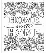 Coloring Inspired Decorate sketch template