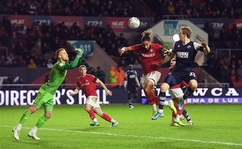 Match action from Ashton Gate - News - Millwall FC