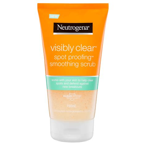 Visibly Clear Spot Proofing™ Smoothing Scrub | NEUTROGENA