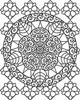 Abstract Coloring Pages Printable Adults Adult Sheets Detailed Colouring Flower Sheet Flowers Floral Pattern Shapes Painting Books Bestcoloringpagesforkids Fairy Yourself sketch template