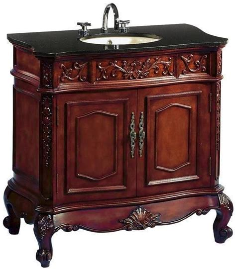 43 inch vanity with sink chans furniture q021gt 43 auburndale 43 inch cherry