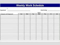 3+ work week calendar template Ganttchart Template