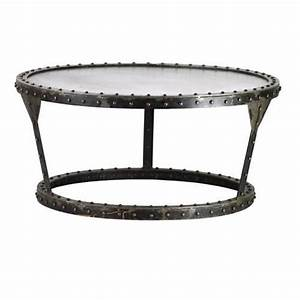 17 best images about coffee table on pinterest shops With industrial style round coffee table