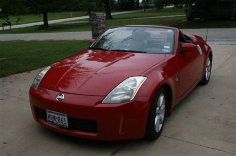 Find Used 2005 Red Nissan 350z Grand Touring Roadster
