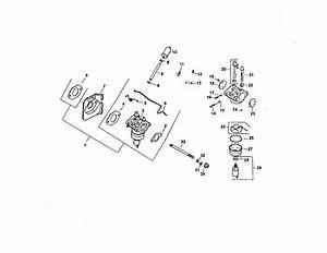 Fuel System Diagram  U0026 Parts List For Model Cv15sps41567