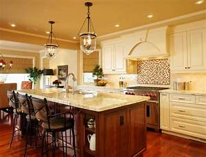 Kitchen island pendant lighting design : French country kitchen island lighting the interior