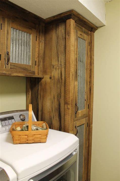 rustic tall storage reclaimed barn wood cabinet wtin
