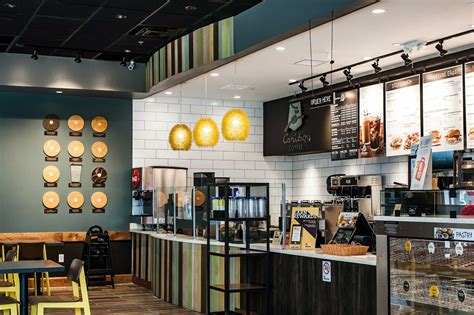 Coffee & bagel brands | company profile, marketing contacts, media spend, brands. Einstein Bagels/Caribou Coffee - Town Center of Virginia Beach