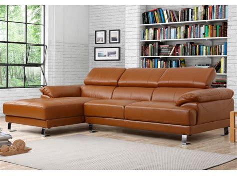 canapé massant canapé angle gauche cuir supérieur taupe achat en ligne