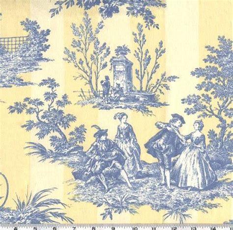 toile de jouy cotton quilt bedding toile de jouy quilt yellow and blue toile curtains curtains blinds