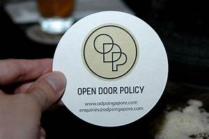 For The Love of Food - Indulge: Open Door Policy ...