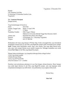 contoh surat lamaran kerja kasir supermarket sles of cover letter for fresh graduates http