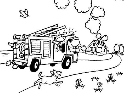 Malvorlagen Feuerwehr