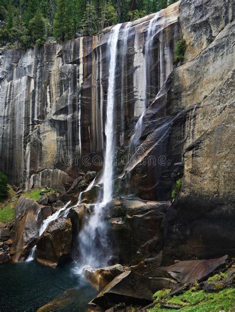 Vernal Fall Yosemite Stock Image