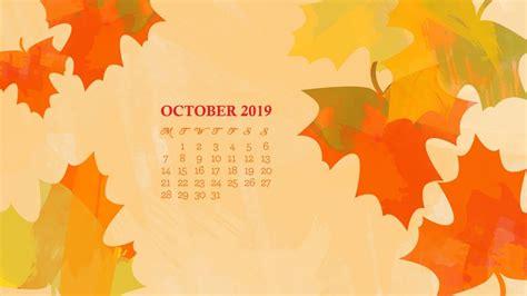 october  desktop calendar wallpaper max calendars