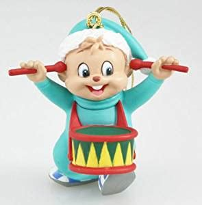 alvin and the chipmunks christmas ornament alvin and the chipmunks theodore ornament home kitchen