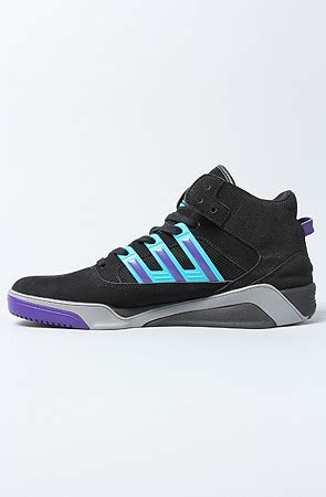 Adidas The Court Blaze Lqc Sneaker In Black Tech Grey Lab