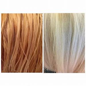 Wella Color Charm Toner Chart Before And After T18 Wella Toner Hair Color Orange Tone