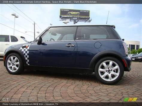 Mini Cooper Blue Edition Photo by 2006 Mini Cooper Checkmate Edition Hardtop In Space Blue
