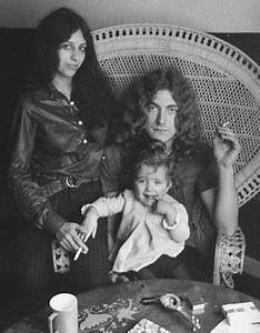 Robert Anthony Plant with then wife Maureen and their (now ...