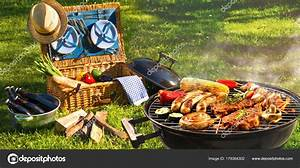 Barbecue picnic — Stock Photo © alexraths #179364302