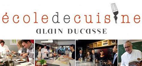 ducasse cours de cuisine ecole de cuisine quot alain ducasse quot noblesse royautés