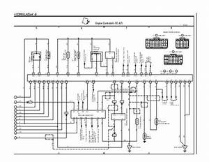 1996 Toyota Corolla Wiring Diagram