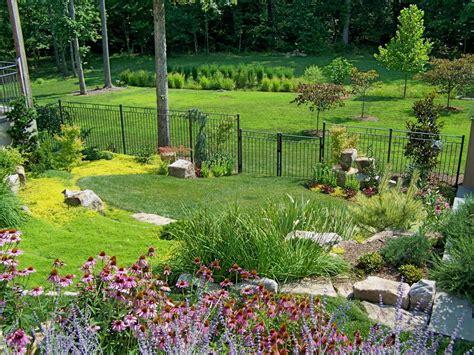 beautiful terraced herb garden hgtv