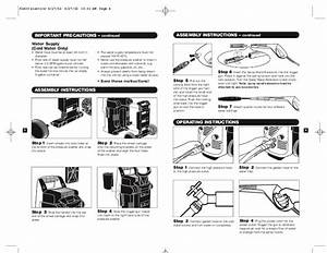 K U00e4rcher K 1400 Electric Power High Pressure Washer Owners