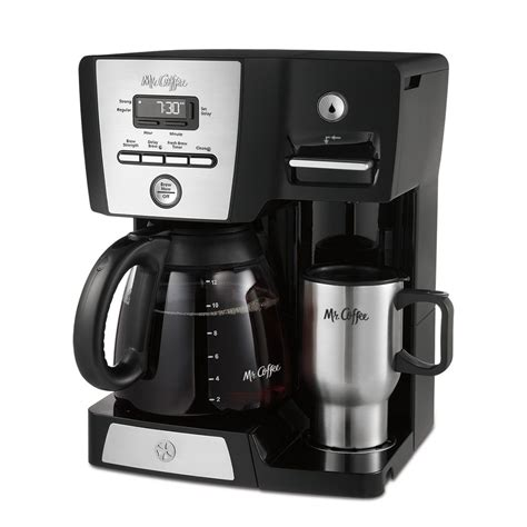 Makes 5 cups in a jiffy. Mr. Coffee® Versatile Brew 12-Cup Programmable Coffee Maker and Hot Water Dispenser, BVMC-DMX85 ...
