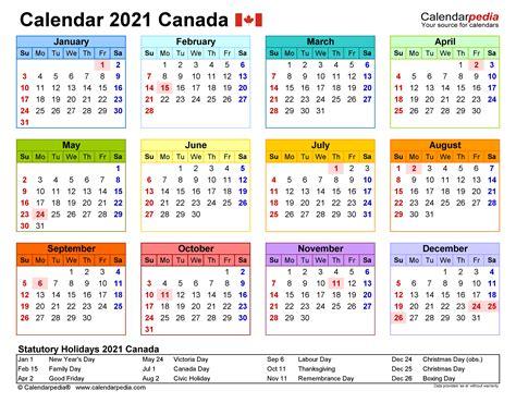 canada calendar   printable word templates