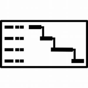Gantt-chart icons | Noun Project