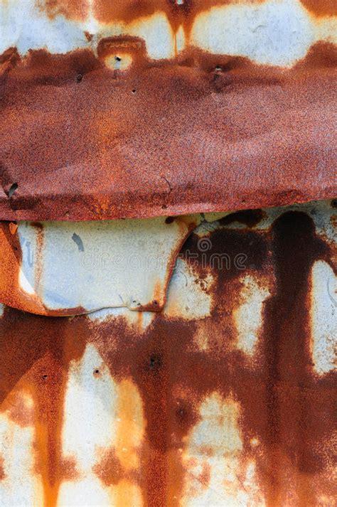 rust tin junk yard pattern streaked damage abstract background